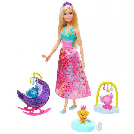 Set de joaca Dragon Nursery Barbie Dreamtopia