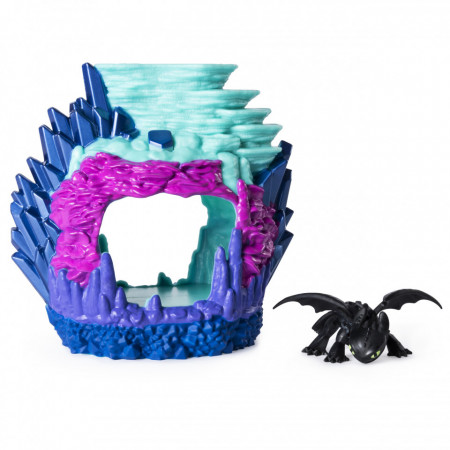 Set de joaca Furia Noptii si Pestera Dragonului How to Train Your Dragon
