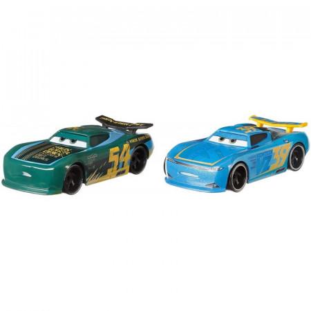 Set de masinute metalice Herb Curbler si Michael Rotor Cars 3