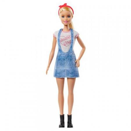 Set papusa Barbie cu 8 accesorii surpriza Barbie You Can Be Anything