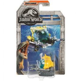Submarin metalic Deep Dive Jurassic World Matchbox