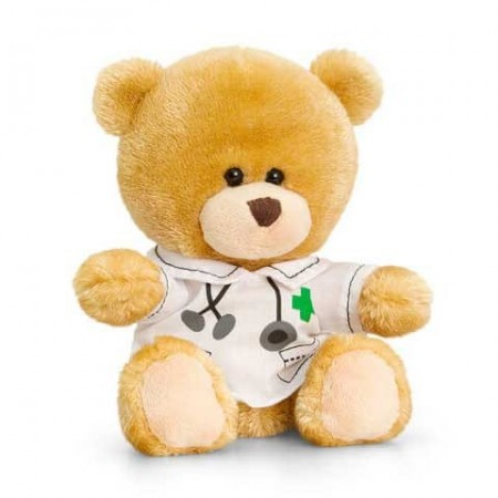 Ursulet de plus Pipp doctor Keel Toys 14 cm