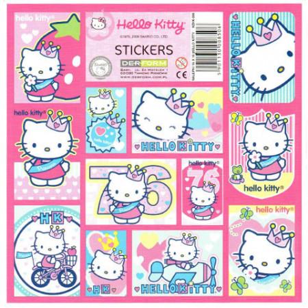 Abtibilduri Hello Kitty 12 bucati