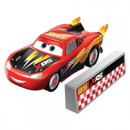Masinuta metalica Fulger McQueen XRS Rocket Racing Cars