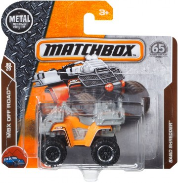 Masinuta metalica Sand Shredder Matchbox
