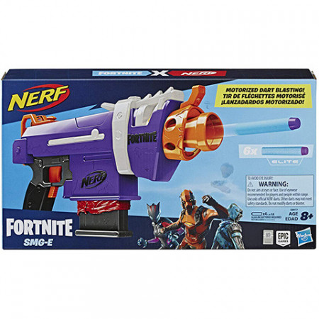 Pistol de jucarie automat Nerf Fortnite SMG-E