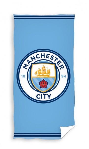 Prosop bumbac Manchester City 150x75 cm MCFC161003