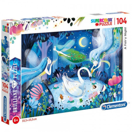 Puzzle A Fairy Night Clementoni 104 piese