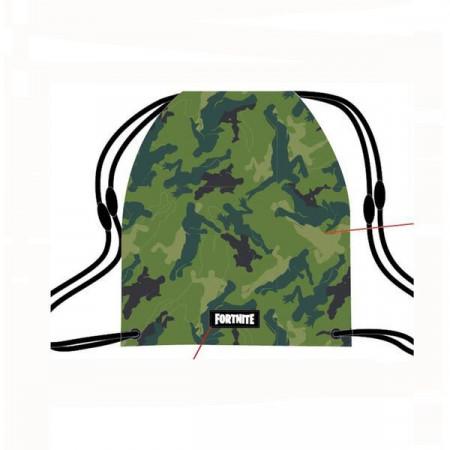 Sac de umar cu snur Camouflage verde Fortnite