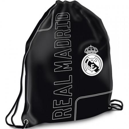 Sac de umar cu snur Real Madrid negru, Ars Una