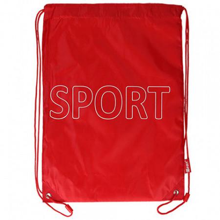 Sac de umar cu snur Sport Spirit rosu