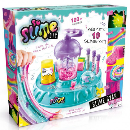 Set de creatie Fabrica de Slime So Slime Seria 1