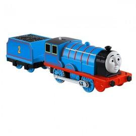 Trenulet Edward Locomotiva Motorizata cu Vagon Thomas&Friends Track Master