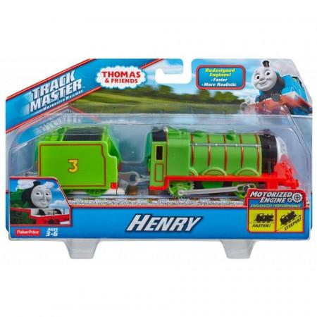 Trenulet Henry Locomotiva Motorizata cu Vagon Thomas&Friends Track Master