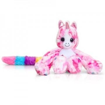 Unicorn de plus roz Ava Hugg'ems 25 cm