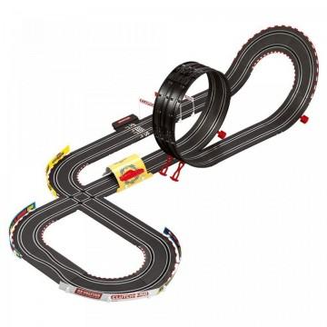 Circuit electric masinute Lightning McQueen si Dinoco Cruz Ramirez Radiator Springs Cars Carrera Go 5,3 m