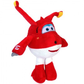 Poze Figurina de plus avion Jett Super Wings 25 cm