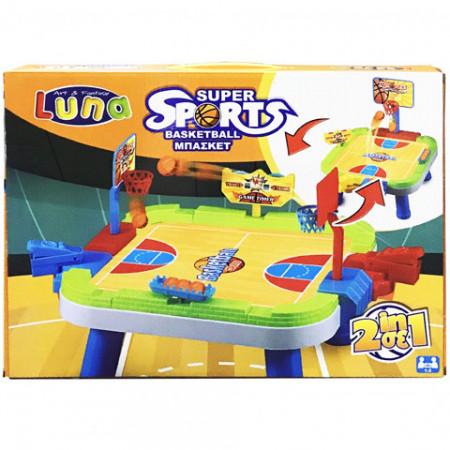 Joc 2 in 1 Basketball Super Sports Luna