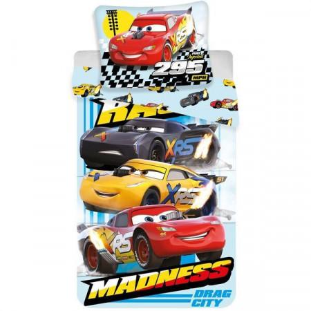 Lenjerie pat XRS Madness Cars 140x200 cm