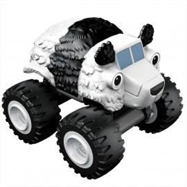 Masinuta Metalica Panda Truck Blaze si Masinile Uriase