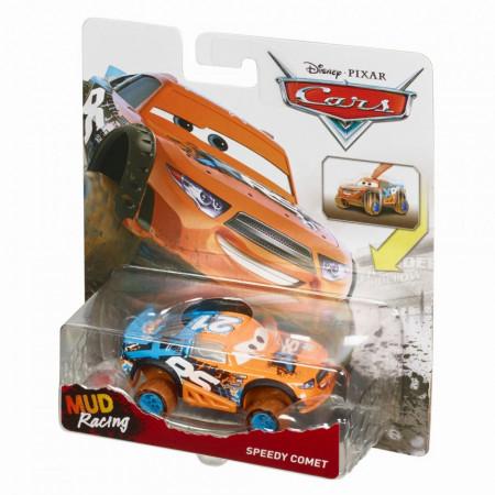 Masinuta metalica Speedy Comet cu suspensii Cars Mud Racing