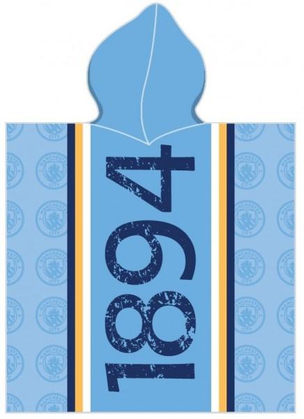 Prosop poncho FC Manchester City 120x60 cm
