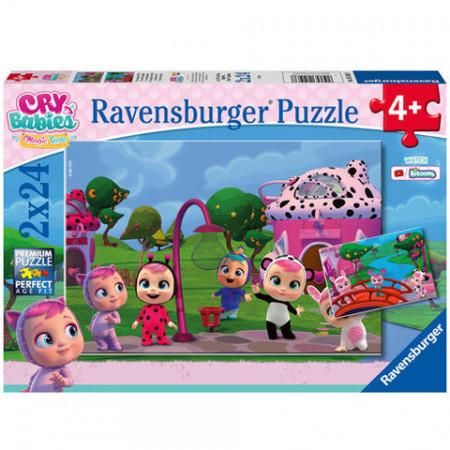 Puzzle Cry Babies 2 x 24 Ravensburger