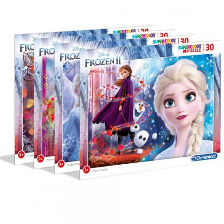 Puzzle Frozen 2 cu rama Clementoni 30 piese