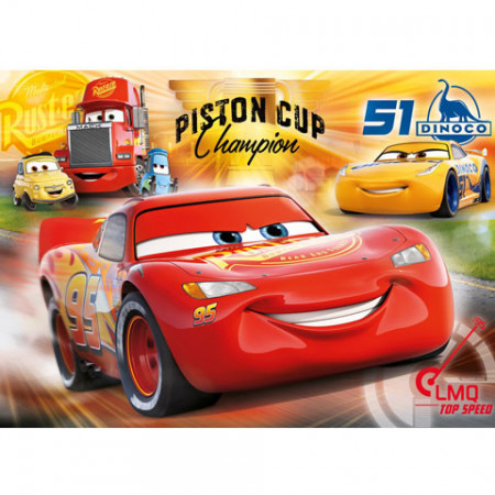 Puzzle Cars 3 Clementoni 60 piese