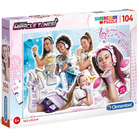 Puzzle Miracle Tunes Clementoni 104 piese