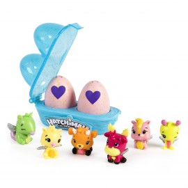 Poze Set 2 figurine surpriza in ou si cofraj Hatchimals Seria 2