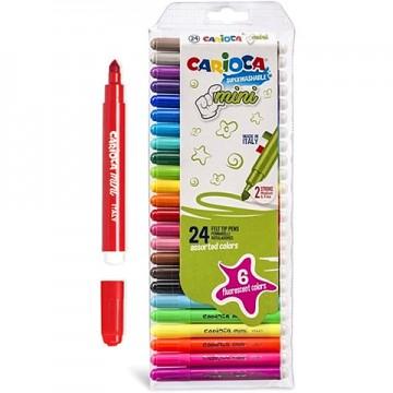 Set 24 mini markere super-lavabile