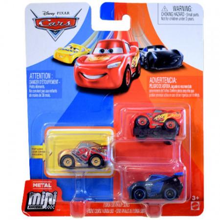 Set 3 masinute metalice Florida 500 Rivalry Mini Racers Cars 3