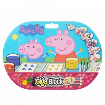 Set creativ Purcelusa Peppa Giga Block 5 in 1