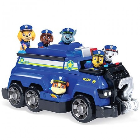 Set de joaca Chase's Team Police Cruiser Patrula Catelusilor Total Team Rescues