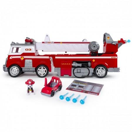 Set de joaca Marshall's Ultimate Fire Truck Patrula Catelusilor Ultimate Rescue