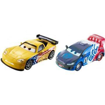 Set de masinute metalice Raoul Caroule si Jeff Gorvette Cars
