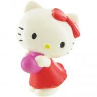 Figurina Hello Kitty inimioara