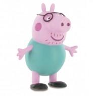Figurina Tata Peppa Purcelusa Peppa