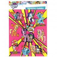 Abtibilduri My Little Pony Funny 16 bucati