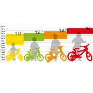 "Bicicleta copii Capitanul America 16"""