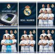 Caiet de matematica A4 Real Madrid 54 pagini