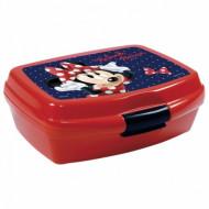 Cutie pentru sandwich Minnie Mouse rosu