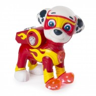Figurina articulata cu lumini Marshall Mighty Pups Patrula Catelusilor
