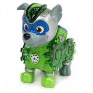 Figurina cu lumini Rocky Patrula Catelusilor Mighty Pups Charged Up
