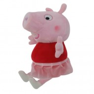 Figurina de plus Peppa balerina Purcelusa Peppa 25 cm