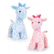 Girafa de plus cu sunete Keel Toys 30 cm - doua variante