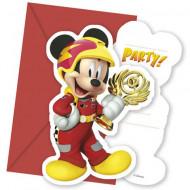 Invitatii pentru petrecere Mickey Mouse