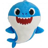 Jucarie de plus muzicala Daddy Shark Baby Shark 25 cm