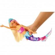 Papusa Barbie sirena cu lumini Barbie Dreamtopia